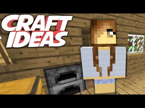 GIRLFRIEND   Minecraft Crafting Ideas!