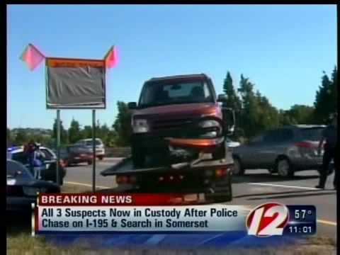 Somerset third suspect arrested following chase
