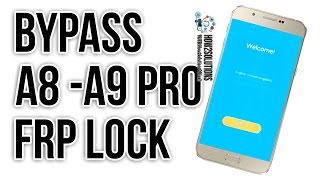 How to bypass google verify Samsung A8 message method 6.0.1 A9 Pro SM A800F