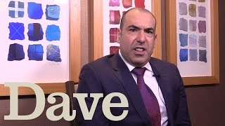 Rick Hoffman Speaks With A British Accent | Suits | Dave