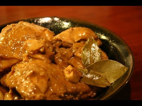 Chicken Adobo Slow Cooker Crock Pot Meal, Filipino Dish