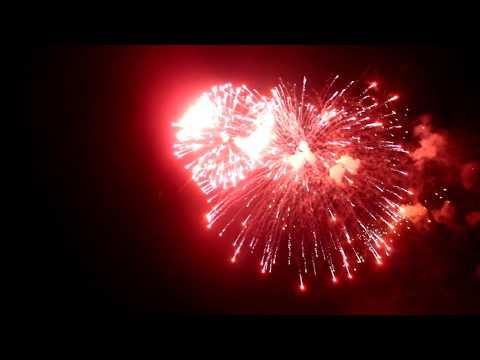 Cалют от и.о. главы Республики завершил праздничный день 23 февраля (ФОТО)