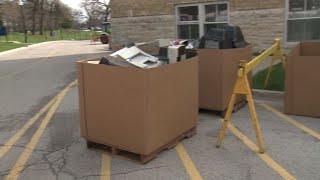 Milwaukee VA's annual electronic recycling event helps more than just environment