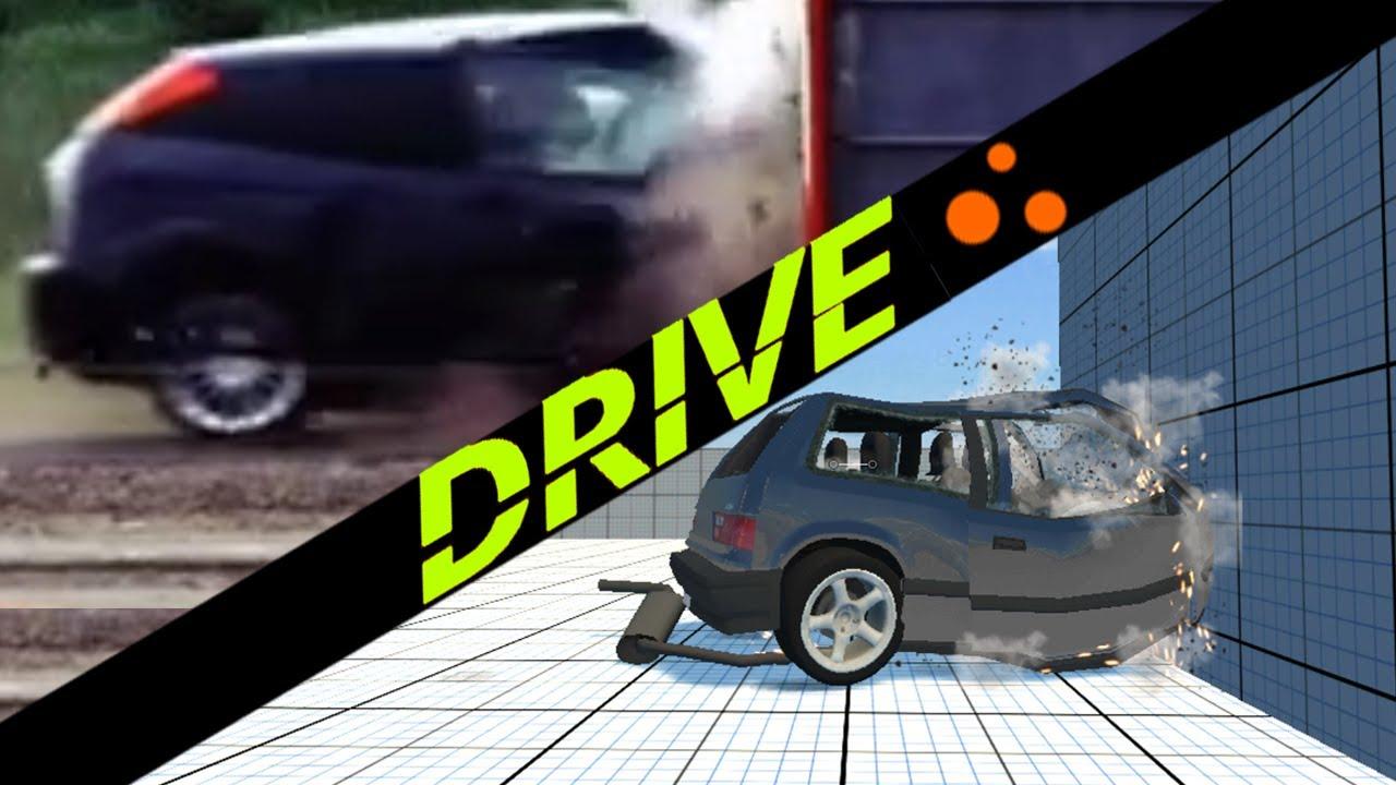 how to make crash drive 2 windowed