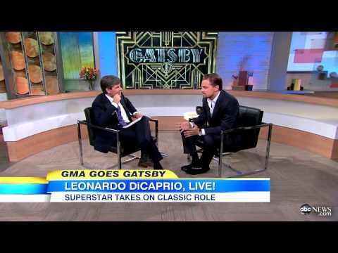Leonardo DiCaprio Says He Was `Reluctant` to Tackle `Gatsby` - `GMA` Interview 201