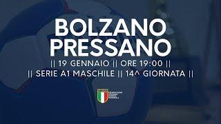 Serie A1M [14^]: Bozen - Pressano 25-32