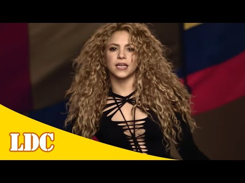 Shakira - La La La (Brasil 2014) (Versión Español) ft. Carlinhos Brown [Lyrics]
