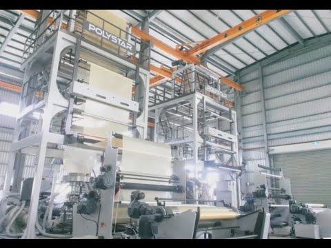 Mattress packaging film blowing machine in Uganda