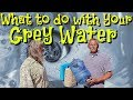 Disposing of Grey Water When Extended Boondocking