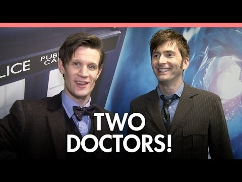 The Doctor and... The Doctor, chat to Digital Spy about the 50th anniversary extravaganza. Follow Digital Spy on Twitter at http://twitter.com/digitalspy Lik...