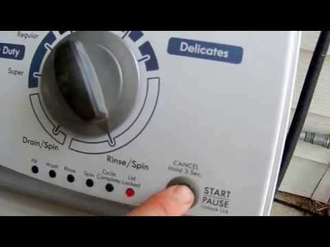 How To Replace The Lid Lock On A Kenmore Vertical Modular