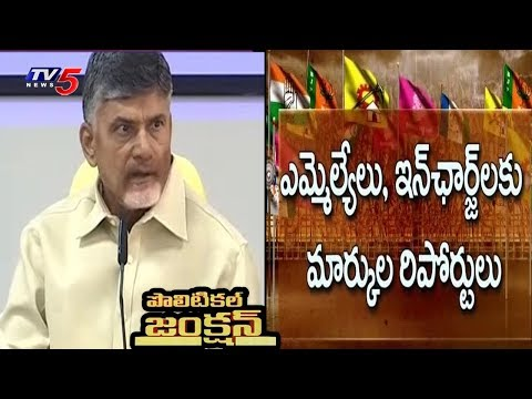 Survey Tension to TDP Party Leaders | Political Junction | TV5 News