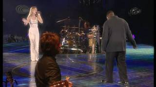 Celine Dion & Barnev Valsaint - I'm Your Angel (Live In Paris at the Stade de France 1999) HD 720p
