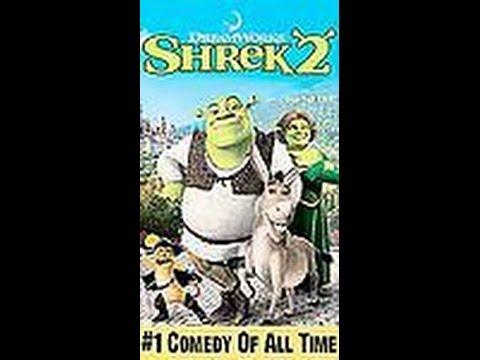 Opening To Shrek 2 2004 VHS thumbnail