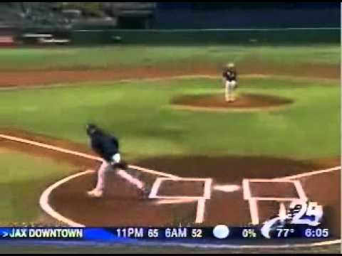 Charlie Crist's Comically Bad First Pitch