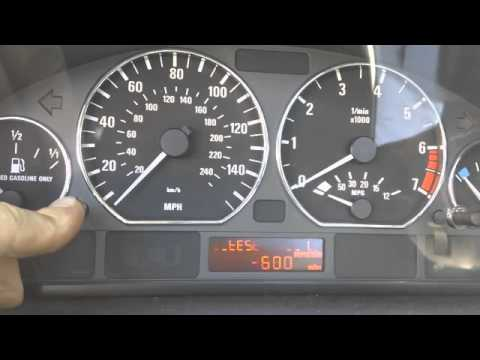 BMW E46 Oil Inspection Service Light Reset (1999 and Newer E46)