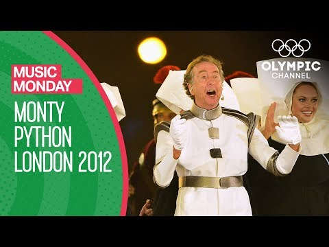 Closing Ceremony - Monty Python Eric Idle - London 2012 Olympic Games