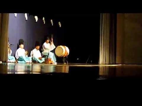 12th Konya International Mystic Music Festival Japan Iwami Kagura Gotsu-dan 2