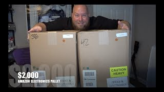 I bought a $2,000 Amazon Customer Returns ELECTRONICS Pallet / Mystery Boxes