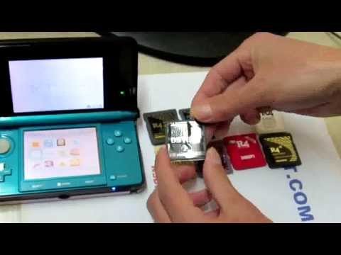8 Flashcarts Tested on 3DS (XL) Firmware Ver 7.1.0-14E