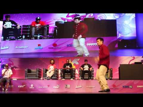 Popping DS (Korea) vs Marzipan (Singapore) | Popping Top 8 | R16 2014 World Finals