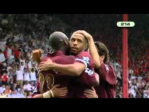 Thierry Henry All Arsenal Goals Part 7 video