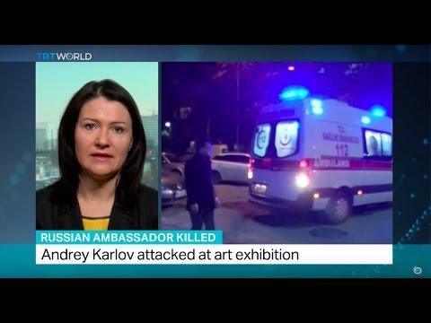 Russian Ambassador Killed: Andrey Karlov assassinated by Ankara gunman #1