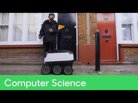 Robot Delivery Vehicle | Computer Science: Problem Solved