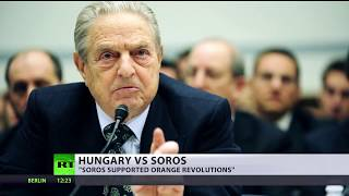 Symbol of protest? Hungary launches $20mn anti-migrant campaign featuring Soros