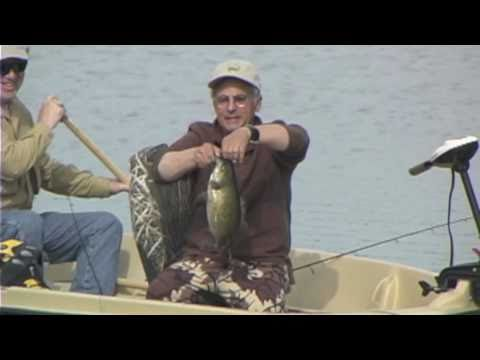 Largemouth Bass at Stump Bay, Waddington - Don Meissner with Dave Swanson - Part 1