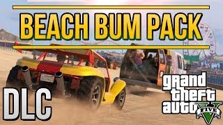 GTA 5 DLC-beach bum pack