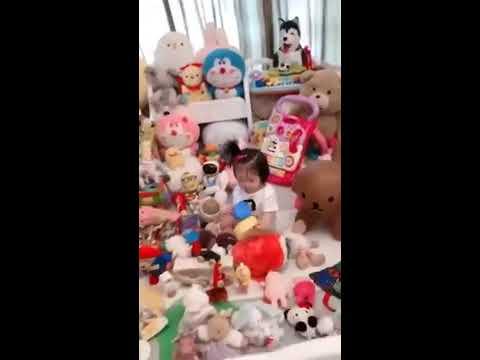 【抖音】專爲寶貝小情人搭建的玩具房,裏面準備的滿滿一屋子可愛玩偶 Mix#14