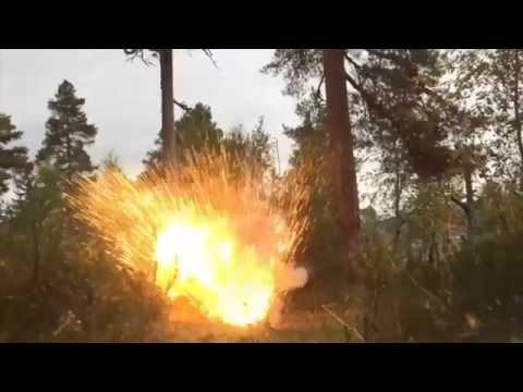 Flash Powder Bomb - KMnO4 + Mg/Al