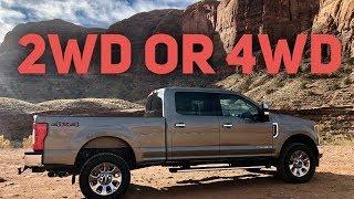 2 Wheel Drive or 4 Wheel Drive Tow Vehicle
