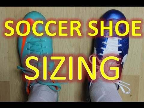 Sizing and Soccer Shoes - Question of the Week