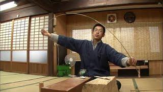 "Highly-Skilled Bamboo Craftspersons Specialized in Making The ""Kishu Fishing Rods""(Kishu Herazao)"