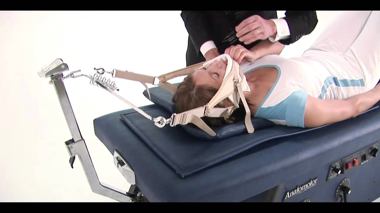 Physical Therapy Traction Table Anatomotor Roller Massage Traction Table Part 2 - YouTube