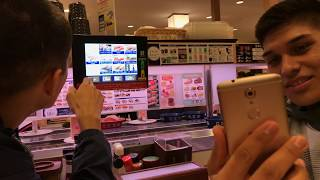 How to order, eat and pay for the sushi