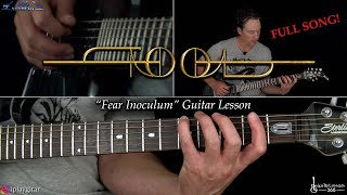 Download Fear Inoculum Guitar Lesson Full Song  TOOL MP3