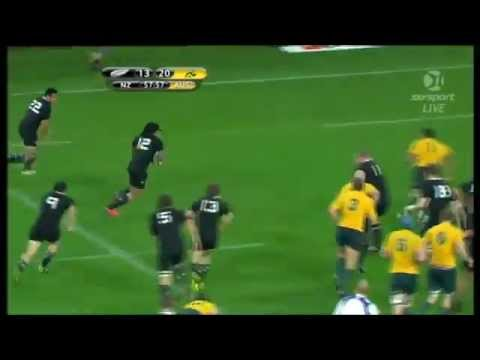 Wallabies v All Blacks Mini TriNations Highlights