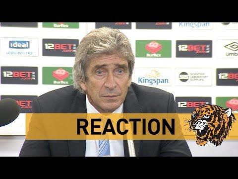 Hull City v Manchester City | Reaction With Manuel Pellegrini