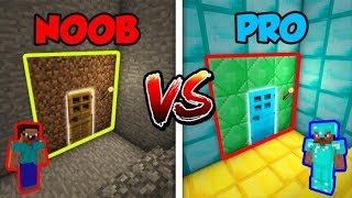 Minecraft NOOB vs. PRO: SECRET BASEMENT in Minecraft!