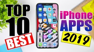Top 10 BEST iPhone Apps - MUST HAVE - 2019 !