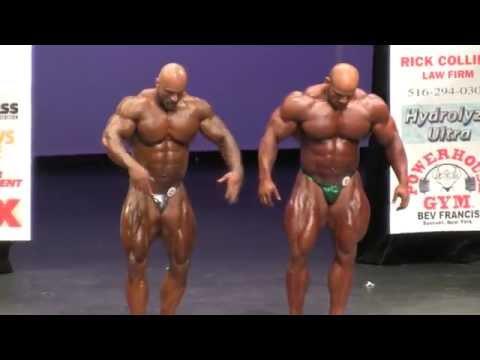 2014 New York Pro Men's Bodybuilding First Callout Big Ramy & Juan Diesel Morel