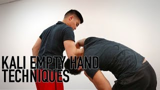 Download KALI EMPTY HAND TECHNIQUES 3Gp Mp4
