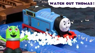 Thomas The Tank Engine prank by Rascal Funling - Funny toy train story for kids TT4U