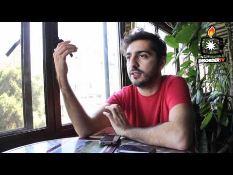 Entrevista a El Guincho en Santiago de Chile. Marzo 2012.