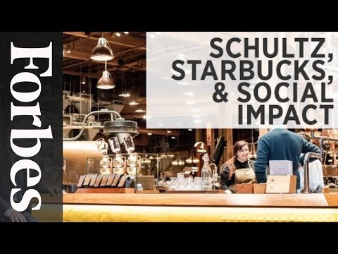 Why Starbucks' Billionaire CEO Pushes Social Responsibility