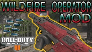 SPITFIRE OPERATOR MOD! WILDFIRE🔥🔥 Fastest gun in BO4