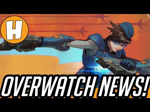 Overwatch News - Uprising End Time, Officer D.va Skin, World Cup Voting! | Hammeh